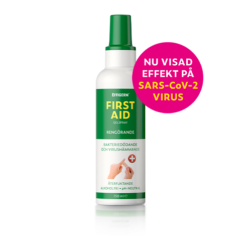 Effigerm First Aid spray flaska 150 ml